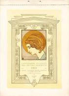 Calendario Augurale Del Piccolo Derelitto 1931. Ospizio Nazionale Piccoli Derelitti Di Padre Beccaro Milano. CISARI - Calendari