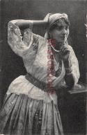 ALGERIE -  SCENES ET TYPES  - Jeune Femme Mauresque - Dos Vierge - 2 Scans - Scenes