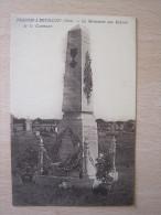 Fresneaux Montchevreuil - Le Monument Aux Enfants De La Commune - Other Municipalities