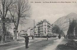 30Q - 38 - Grenoble - Isère - Le Cours Saint-André Et Le Mont Rachais - E.R N° 1248 - Grenoble