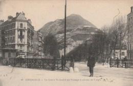 30Q - 38 - Grenoble - Isère - Le Cours Saint-André Au Passage à Niveau De L'Aigle - A.V N° 03 - Grenoble