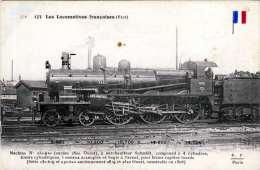 Französische Dampflok, Karte Um 1910 - Eisenbahnen