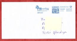 Brief, FRANKIT Pitney Bowes 4D060.., FN Verlag Warendorf, 55 C, 2012 (76296) - Covers & Documents
