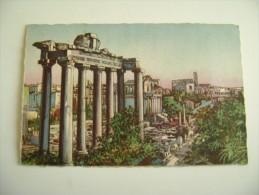 ROMA -  ARTISTICA    ARTISTIQUE     VIAGGIATA  COME DA FOTO FORMATO PICCOLO - Roma (Rome)