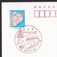 Japan Scenic Postmark, Mushroom Fish (js1808) - Sonstige