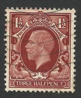 Great Britain, 1 1/2 P. 1934, Sc # 212, Mi # 177, Used. - 1902-1951 (Kings)