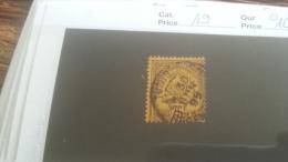 LOT 253639 TIMBRE DE COLONIE TUNISIE OBLITERE N�19 VALEUR 10 EUROS