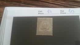 LOT 253645 TIMBRE DE COLONIE TUNISIE NEUF* N�24 VALEUR 13 EUROS