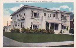 Home Of Harold Lloyd Los Angeles California