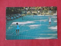 > Antigua W.I.  Tennis At Anchorage Hotel Dickerson Bay--   -----------      ---------- Ref 1775 - Antigua & Barbuda