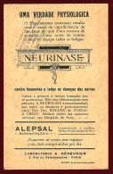 FRANCE - L'ENFANT PRODIGUE - TENIERS - LOUVRE - NEURINASE LAB. GENEVRIER - 1910 ADVERTISING PRINT - Advertising