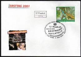 ÖSTERREICH 2000 - Naturschönheiten / Bärenschutzklamm, Steiermark - Sonderstempel FDC - Sonstige