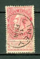 België/Belgique  58  Ciney  Nipa + 50 - 1893-1900 Fine Barbe