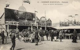 FOIRE DE NIJNY NOVGOROD  Stand De Divertissement - Russie