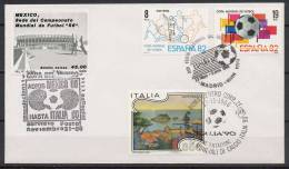 Italy / Spain / Mexico 1980/86 Football Soccer World Cup Commemorative Cover. - World Cup