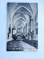 Carte Postale Ancienne : SALLES D'ANGLES : Interieur De L'Eglise, En 1943 - Altri Comuni