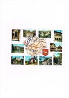 Cpm Le Lot (46) - Mapas