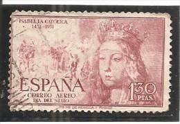 España/Spain-(usado) - Edifil  1099 - Yvert  Aéreo-252 (o) (pliegue) - Usados