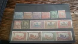 LOT 253691 TIMBRE DE COLONIE TUNISIE NEUF* N�29 A 41 VALEUR 50 EUROS