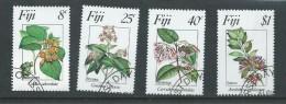 Fiji 1983 Flowers I Set 4 FU - Fiji (1970-...)