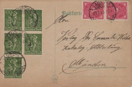 Germany; Inflation Postcard 29 Jan.1923 - Lettres & Documents