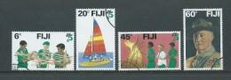 Fiji 1982 Scout Set 4 FU - Fiji (1970-...)