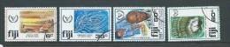 Fiji 1981 Disabled Year & Paintings Set 4 FU - Fiji (1970-...)