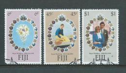 Fiji 1981 Royal Wedding Set 3 FU - Fiji (1970-...)