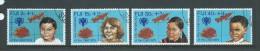 Fiji 1979 IYC Charity Set 4 FU - Fiji (1970-...)