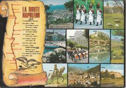 La Route Napoléon (38) Grenoble, Vizille, Laffray, Corps...splendide Carte Multi-vues - Grenoble