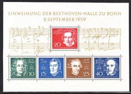 GERMANY  804   **  MUSIC  BEETHOVEN - Unused Stamps