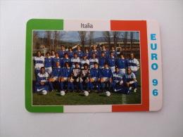 Euro Cup Football Italia National Team Portugal Portuguese Pocket Calendar 1996 - Calendriers