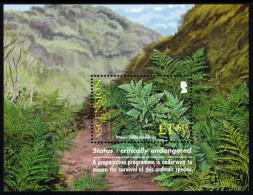 ASCENSION. 2004 ROYAL HORTICULTURAL SOCIETY CENTENARY SHEET  MNH. - Ascensione