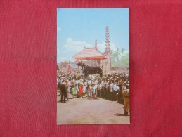 Lembu (steer) In Which Remains Are To   Be Cremated---ref  1776 - Indonesia