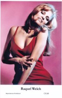 RAQUEL WELCH - Film Star Pin Up - Publisher Swiftsure Postcards 2000 - Entertainers