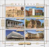 Moldova Moldawien 2011 MNH ** Mi. Nr. 771-775 KB 575th Aniv. Of Kishinev - Moldavië