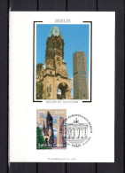 """Carte Maximum En Soie De 2005 N° YT 3811 """" BERLIN : L´EGLISE DU SOUVENIR """" En Parfait état. CM - Cartes-Maximum"""