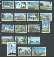 Fiji 1979 Building Definitive Set 18 FU - Fiji (1970-...)