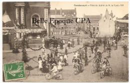 59 - GONDECOURT - Fête Du Jubilé De M. Le Curé - 1911 +++ Cliché Lauvë / Lerouge, éditeur +++ Vers Lille +++ RARE - Otros Municipios