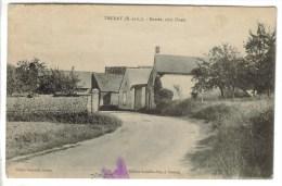 CPA YMERAY (Eure Et Loir) - Entrée Côté Ouest - Autres Communes