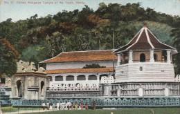 SRI LANKA - CEYLON - DALADA MALIGAWA TEMPLE OF THE TOOTH KANDY - Sri Lanka (Ceylon)
