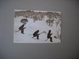 AUSTRALIE AUSTRALIA VIC VICTORIA ON A DOWNHILL RUN ALPINE MINERS WERE THE FIRST AUSTRALIANS TO SKI FOR RELAXATION.... - Australie