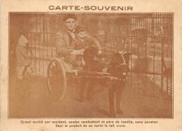 BOUCHES DU RHONE  13  MARSEILLE    MUTILE ANCIEN COMBATTANT  ATTELAGE DE CHIEN  METIER - Marseilles