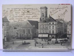 77 - LA FERTE SOUS JOUARRE - PLACE DE L'EGLISE - ANIMEECOMMERCES - ATTELAGE - La Ferte Sous Jouarre