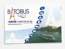 Ticket  BATOBUS Paris. (Voir commentaires)