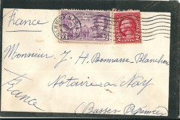 Enveloppe  Cachet  Au  Depart  De  NEW - YORK     (  Etats - Unis  )  à  Destination  De  NAY  ( 64 ) - Amérique Centrale