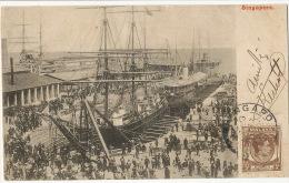 Singapore  Ships P. Used Malaya - Singapur