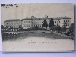 77 - MONTEREAU - HOPITAL CIVIL ET SON ANNEXE - Montereau