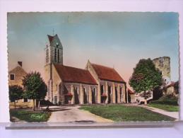77 - BLANDY LES TOURS - L'EGLISE - Other Municipalities