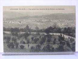 77 - JOUARRE - VUE PRISE DES JARDINS DE LA MAISON DE RETRAITE - La Ferte Sous Jouarre